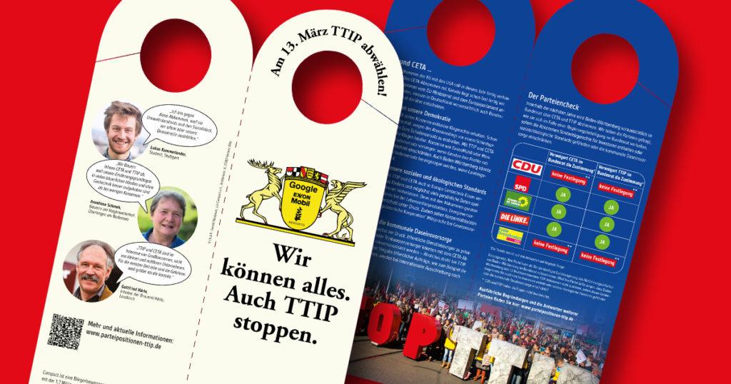 TTIP Tuerschilder