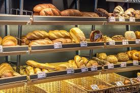 Brote im Supermarkt