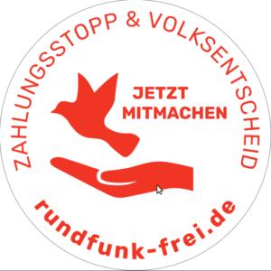 Rundfunk-frei Volksentscheid