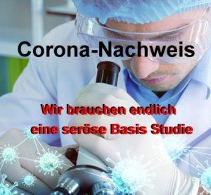 Corona Nachweis Basis Studie